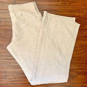 Off white beige sweat pants